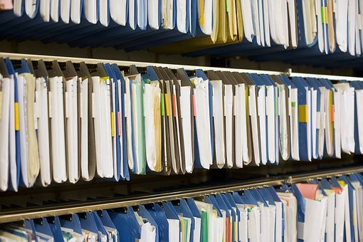Archive, Files, Register, Office, Documents, Management