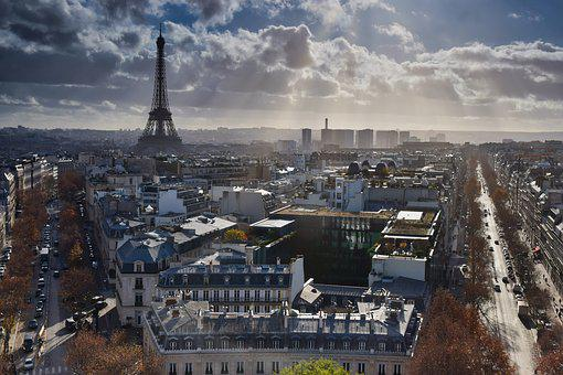 Eiffel Tower, Paris, Places Of Interest, Landmark, City