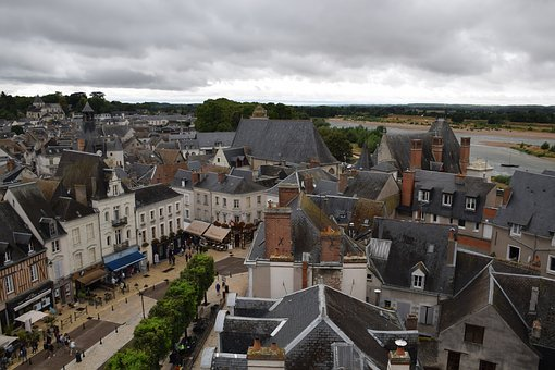 Small Town, France, Old, History, Architecture, City