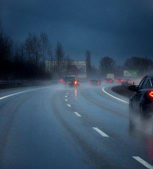 Highway, Rain, Danger, Autumn, Winter, Accidents, Speed