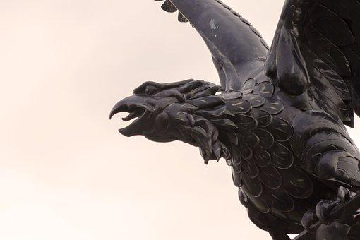 Turul, Statue, Monument, Symbol, History, Sculpture