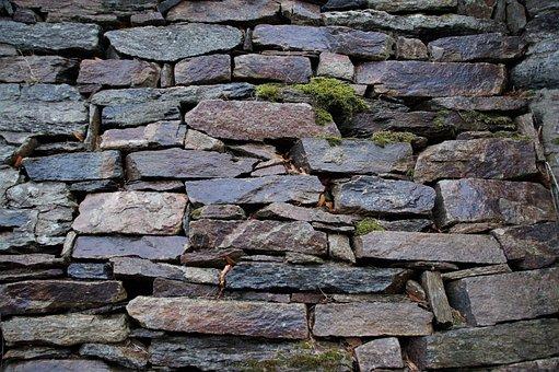 Wall, Stone, Retaining Wall, Architecture, Manually