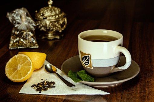 Lemon, Tea, The Drink, Drink, Mug, Decoration, Fruit