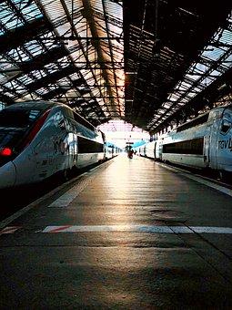 Trains, Dark, Vintage