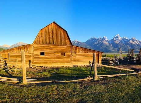 Tetons Rustic Barn, Barn, Farm, Valley, Grand, Teton