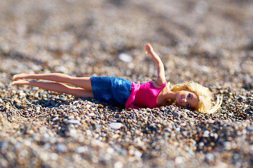 Baby, Girl, Woman, Fall, Holiday, Child, Beach, Toy
