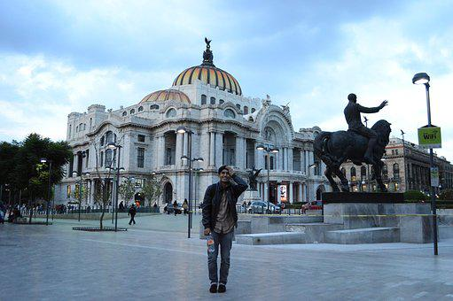 Mexico, Fine Arts, City, Palace, Architecture, Arts