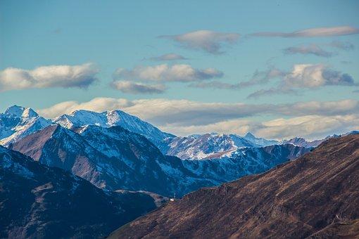 Mountains, Snow, Winter, Landscape, Baqueira-beret
