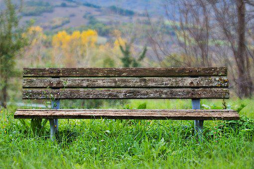 Bench, Wood, Nature, Seat, Rest, Out, Silent, Sit
