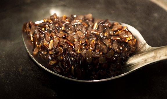 Black Rice, Food, Forbidden Rice, Rice Cooking
