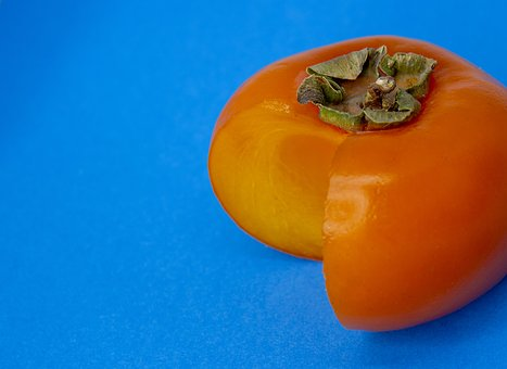 Persimmon, Orange, Blue, Complementary Color, Color