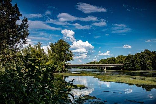 Sky, Blue, Summer, Nature, Water, Clouds, Landscape