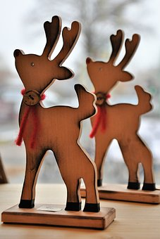 Reindeer, Deco, Christmas, Decoration, Advent