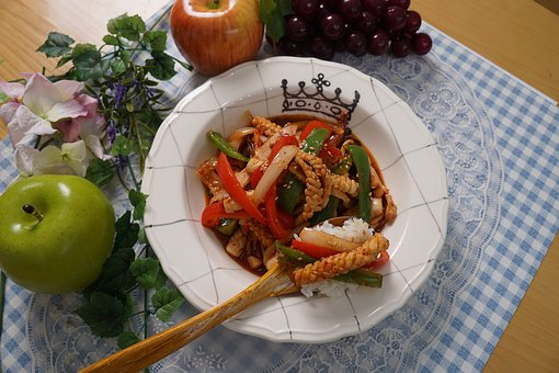 Squid Stir-fry, Squid Training Years, Cooking, Recipe