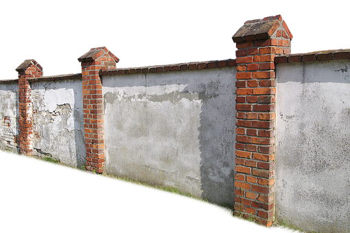 Wall, Building, Isolated, Cut Out, Architecture, Stone