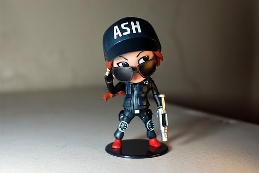 Ash, Video, Game, Character, Cute, Small, Toy, Figurine