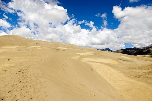 Great Sand Dunes National Park, Dunes, Sand, Colorado