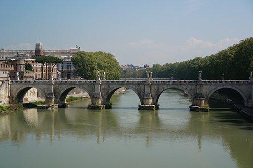 Italy, Architecture, Tourism, Famous, Bridge, Landscape