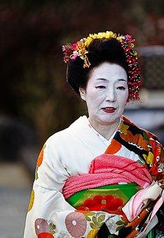 Japan, Kyoto, Festival, Costume, Autumn