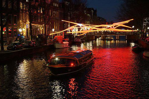 Amsterdam, Canals, Holland, Netherlands, Channel, City