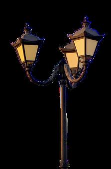 Lantern, Lamp, Isolated, Light, Design, Lighting