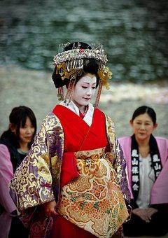 Kyoto, Festival, Japan, Traditionally, Costume