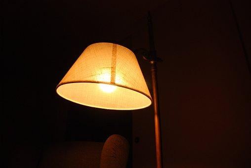 Light, Old, Vintage, Lamp, Antique Lamp