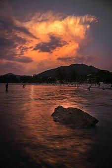 Sunset, Sunrise, Freedom, Landscape, Nature, Joy, Sun