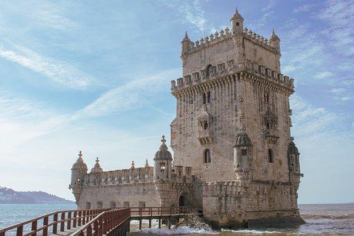 Tower, Belem, Portugal, Lisbon, Lisboa, Monument