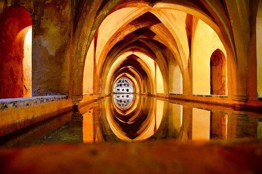 Bath, Warm, Spa, Relax, Secret Place, Reflexion