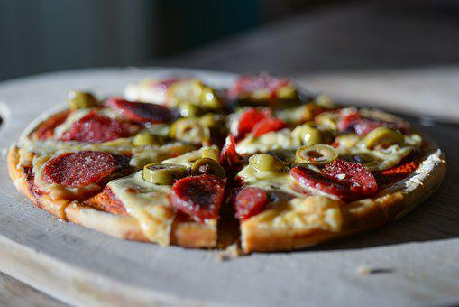 Fresh, Pizza, Food, Delicious, Restaurant, Cheese