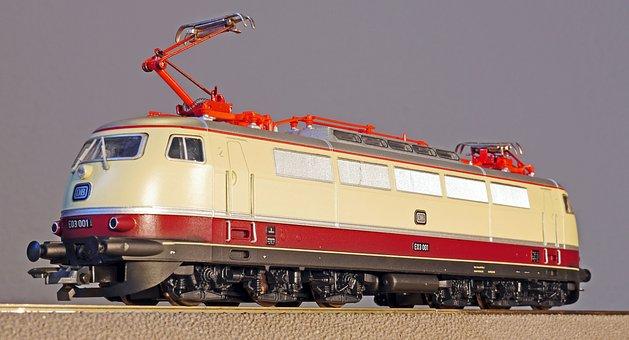 Model Railway, Scale H0, Electric Locomotive, Ic