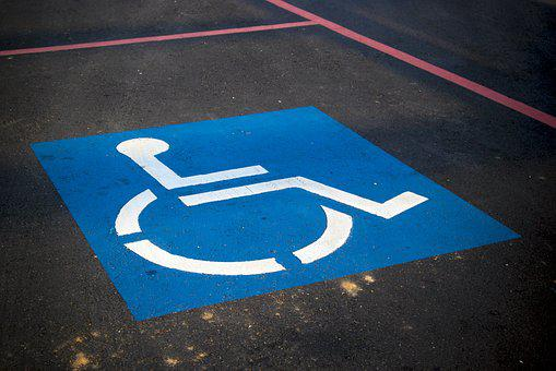 Handicap Parking, Sign, Disable, Parking, Symbol