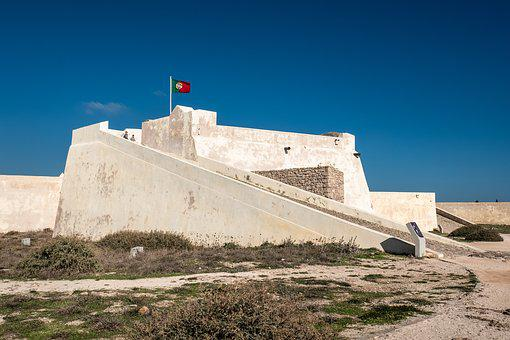 Fortaleza, Sagres, Algarve, Fort, Portugal, Travel, Sky