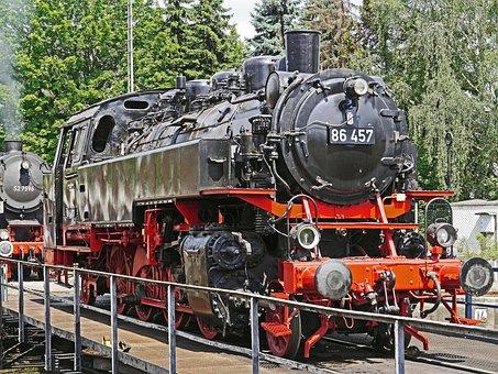 Steam Locomotive, Tank Locomotive