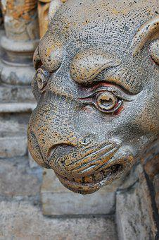 Statue, Stone, Carved Stone, Stone Sculpture, Limestone