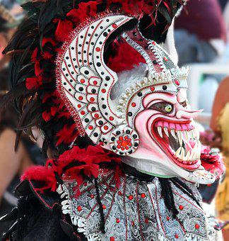 Mask, Scary Mask, Teeth, Horror, Masquerade, Carnival