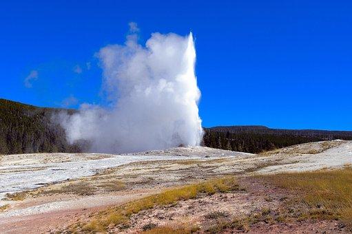 Yellowstone's Old Faithful, Upper, Geyser, Basin