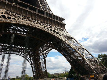 Eiffel Tower, Paris, Architecture, City, Landmark