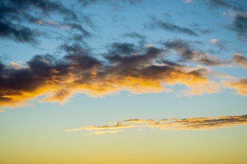 Sky, Dawn, Clouds, Atmospheric, Tomorrow