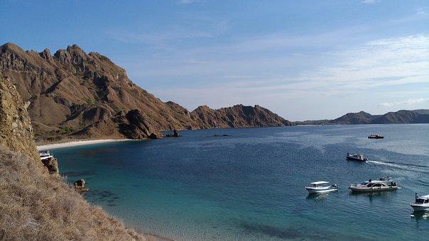 Beach, Island, Landscape, Ocean, Sea, Paradise