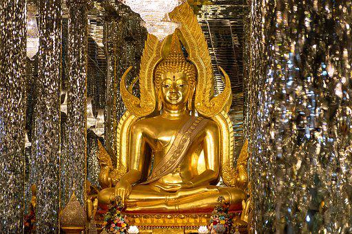 Buddha, Statue, Background, Thailand, Art, Temple