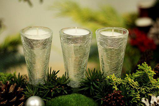 Christmas, Atmosphere, Candles, Decoration, Lighting