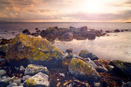 Seascape, Atlantic, Ocean, Sea, Beach, Coastline, Coast