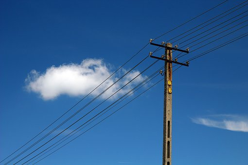 Electricity, Current, Cables, Lines, The Voltage, Hotel