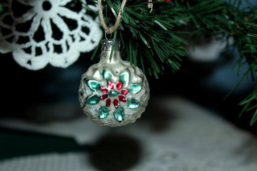 Bauble, Ornament, Christmas Tree, Decoration, Holidays
