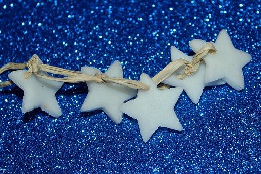 Stars, Holidays, Decoration, The Background