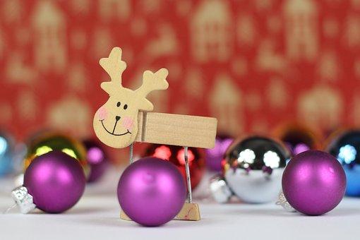 Christmas, Holidays, Christmas Baubles, The Figurine