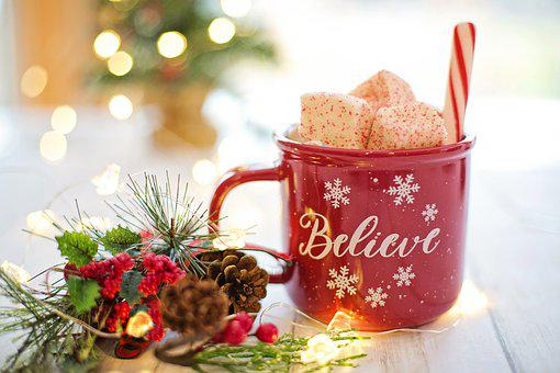 Christmas, Hot Chocolate, Cocoa, Believe, Drink, Hot