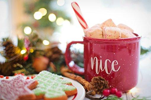 Christmas, Hot Chocolate, Cocoa, Nice, Drink, Hot, Mug